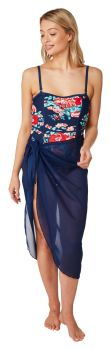 "OY23268, ""Oyster Bay"" Brand Ladies Sarong £3.95.  pk6..."