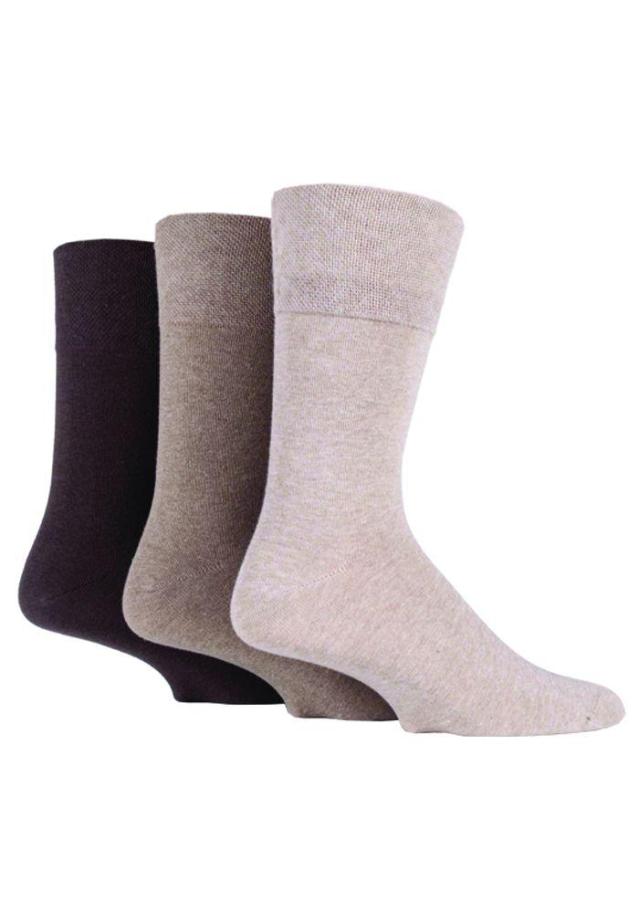 SOMRD04, Mens Diabetic Gentle Grip Socks.  1 dozen..