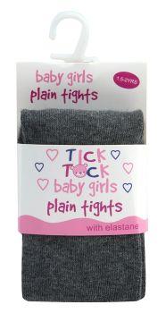 45B033, Baby Plain Tights- Grey £1.10.    pk24...