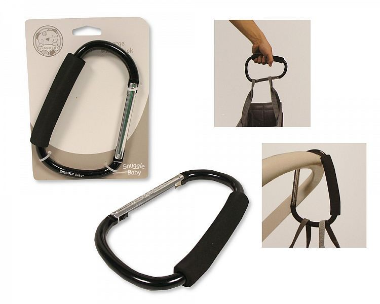 AC0004, Large Metal Hook for Pushchairs and Prams £2.60.  PK6...