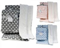 BW1028, Spotted Baby Wrap £4.95.  PK2..