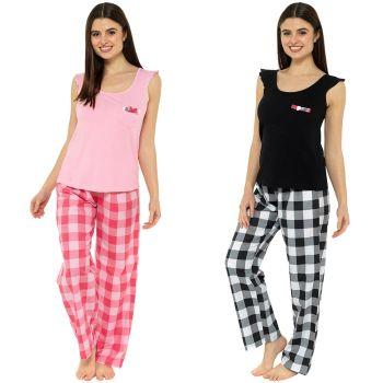 *LN1198, Ladies Pyjama Set £7.50.  pk24..