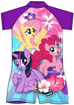"""MLP0967, Official """"My Little Pony"""" Girls Surf Suit £4.95.  pk12..."""