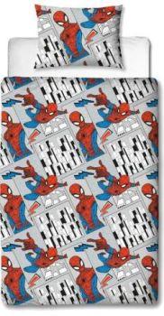"""**V4101, Official """"Spiderman""""""""Flight"""" Reversible Single Duvet Cover Set £7.95.  pk3.."""