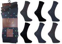 RL0023, Mens design socks £3.75 per dozen, 10 dozen....