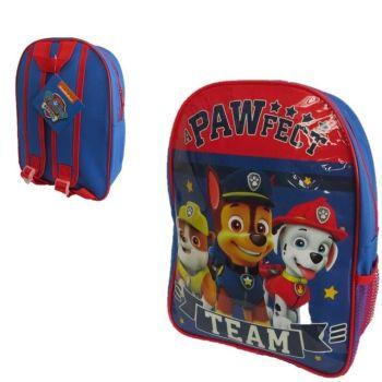"*TD8153, Official ""Paw Patrol"" Junior Backpack £2.25.  pk6..."