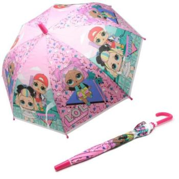 "*Code:4836, Official ""L.O.L Surprise"" Umbrella £2.95.  PK6.."