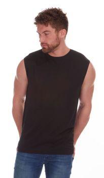*21A1394, Mens Sleeveless T shirt £2.00.  pk48....
