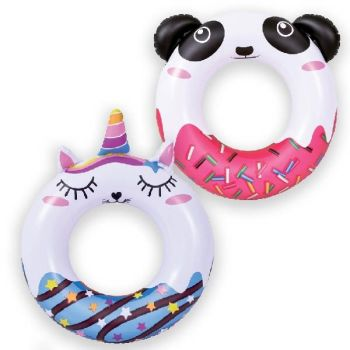 Code:837595, Inflatable Novelty Swim Ring £1.15.  pk12...