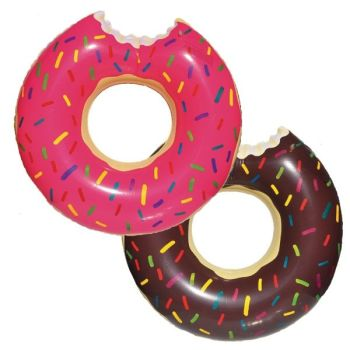 Code:863009, Inflatable Donut Design Turbo Tube £2.85.  pk6...