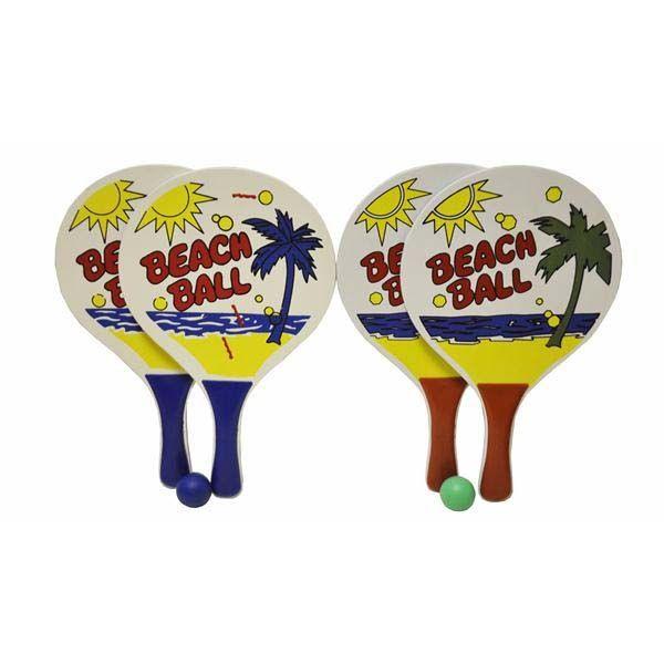 Code:53631, Bat & Ball Set in Net Bag £1.65.  pk12..