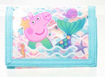 "*PEP1674, Official ""Peppa Pig"" Wallet £2.50.   pk12.."