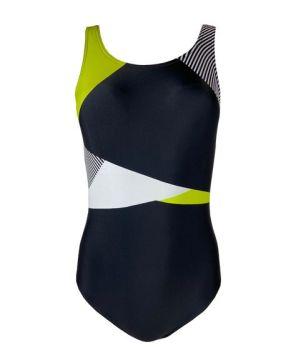 **LSW0104, Ex M-S Ladies Secret Slimming Colour Block Swimsuit £5.50.  PK12..