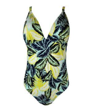 *LSW0106, Ex M-S Ladies Secret Slimming Palm Swimsuit £4.95.  PK24..