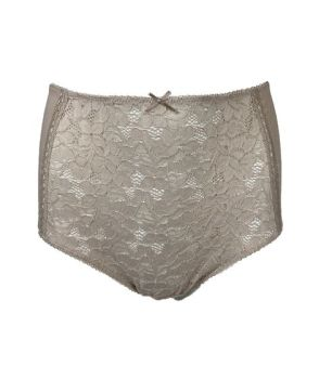 LUW0551, Ex M-S Ladies Full Brief Lace Front £1.25.  PK24..