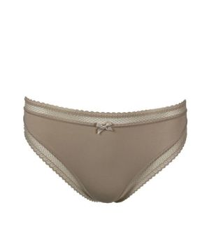 LUW0553, Ex M-S Ladies High Leg Lace Edge Brief £1.25.  PK24..