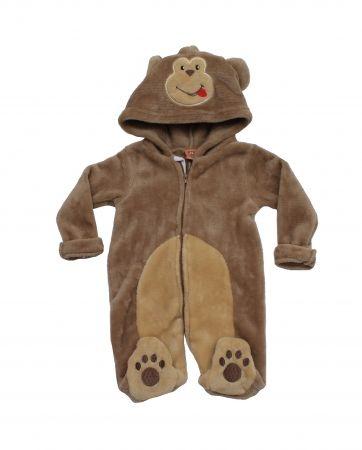 *J8035, Baby Boys Novelty All in One- Monkey £5.40.   pk12..