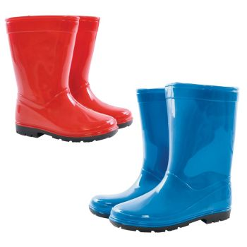 FT1720, Kids Plain Wellington Boots £4.25.  pk18....