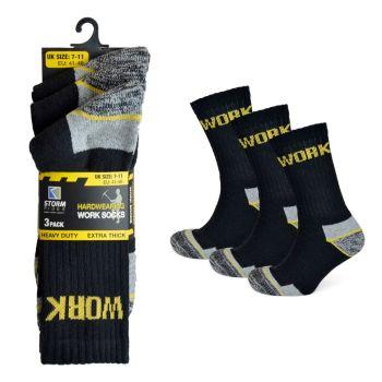 SK630, Mens Work Sock £6.50 a dozen.   18 dozen....
