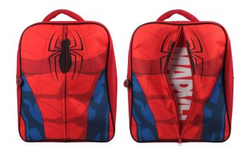 "SPID1350, Official ""Spiderman"" Zip Backpack £7.50.  pk6.."