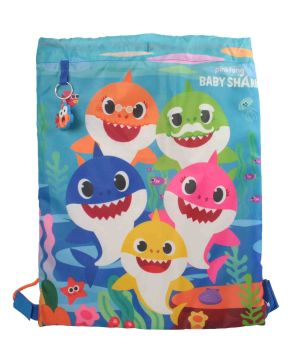 "BS1081, Officlal ""Baby Shark"" Trainer Bag £2.75.  pk12.."