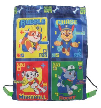 "PAW1284, Officlal ""Paw Patrol"" Trainer Bag £2.95.  pk12.."
