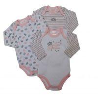 JTC8532LG, Girls 3 pack Long Sleeve Bodyvest- Little Princess £4.20.  18pks....