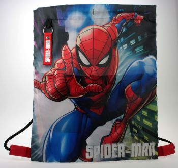 "SPID1737, Officlal ""Spiderman"" Trainer Bag £2.95.  pk12.."