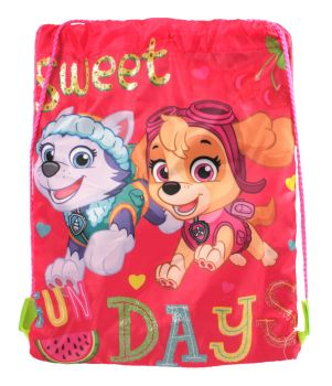 "PAW1812, Officlal ""Paw Patrol"" Trainer Bag £2.75.  pk12.."