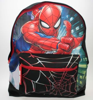 "SPID1739, Official ""Spiderman"" Roxy Backpack £7.50.  pk6.."