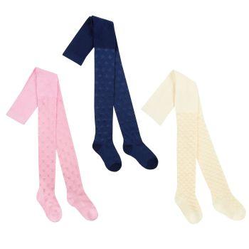 46B404, Girls Textured Nylon Tights £1.50.  pk18...