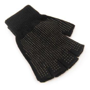 GL310, Adults Fingerless Magic Gripper Gloves £0.55.  pk12...