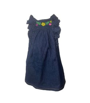 *CGI0247, Ex N-xt Girls Denim Dress £3.00.  PK12...