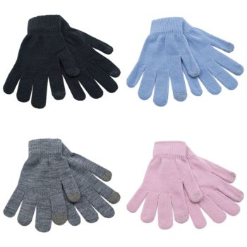 GL419, Ladies phone touch gloves £0.60.  pk12..