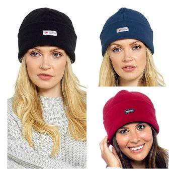 GL138, Ladies Thinsulate Polar Fleece Hat £1.70.  pk12...