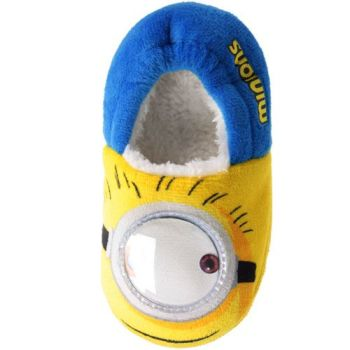 "GSS19787, Official ""Minions"" Boys Slippers £5.95.  pk24..."