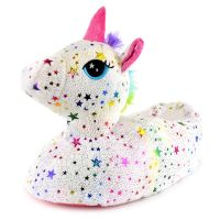 FT1764, Ladies Star Unicorn Novelty Slipper £5.75.  pk24...