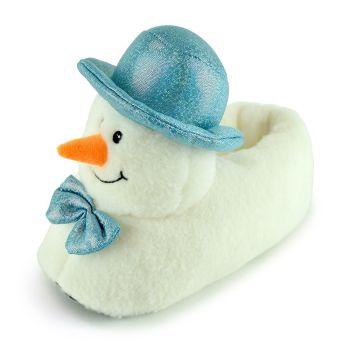 FT1767, Ladies  Snowman Novelty Slipper £5.75.  pk24...