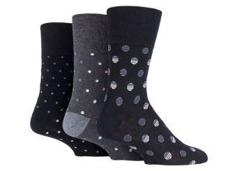 """SOMRJ578, Mens """"Gentle Grip"""" design socks.  1 dozen.."""