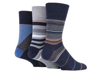 """SOMRJ579, Mens """"Gentle Grip"""" design socks.  1 dozen.."""