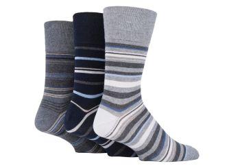 """SOMRJ581, Mens """"Gentle Grip"""" design socks.  1 dozen.."""