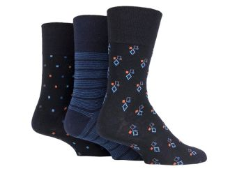 """SOMRJ582, Mens """"Gentle Grip"""" design socks.  1 dozen.."""