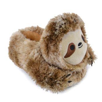 FT1457, Kids Sloth Novelty Slipper £4.95.  PK24...