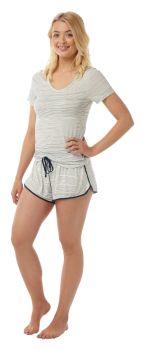 "*IN16273, ""Indigo Sky"" Ladies Striped Shortie Pyjama £6.25.  pk2..."