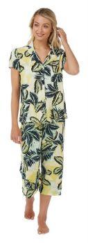 "IN21343A, ""Indigo Sky"" Ladies 3/4 Woven Pyjama- Aqua £6.75.   pk2......"