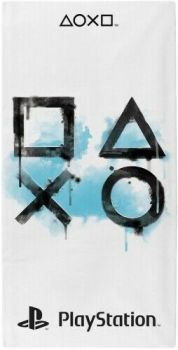 """*PS976, Official Sony Playstation """"Inkwash"""" Beach Towel £5.25.  pk6..."""