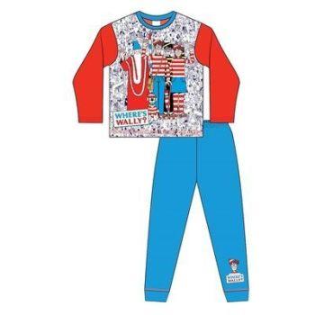 "*Code:33160, Official ""Where's Wally"" Boys Pyjama £4.50. pk18..."