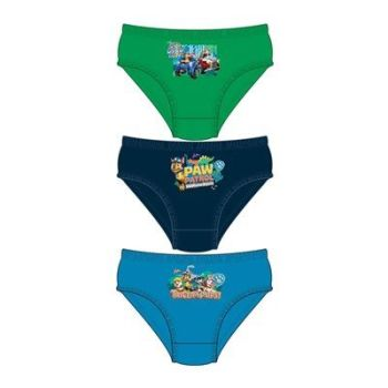 """Code:33234, Official """"Paw Patrol"""" boys 3 in a pack briefs £1.80. 18pks.."""