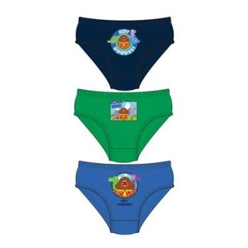 "Code:33240, Official ""Hey Duggee"" boys 3 in a pack briefs £1.80. 18pks.."