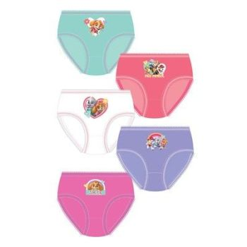 "Code:33321, Official ""Paw Patrol"" girls 5 in a pack briefs £2.95. 18pks.."